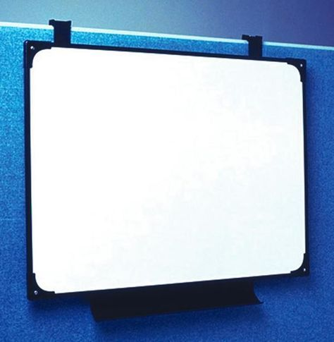 Image Of Hang Whiteboard With Cubicle Hangers Cube Cubicle