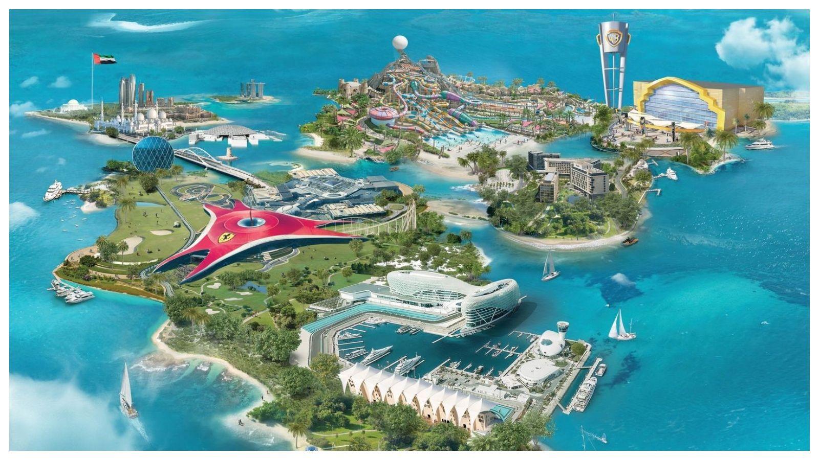 جزيرة ياس بأبوظبي تستعرض أهم خمس أنشطة خارجية خلال موسم الشتاء In 2021 Abu Dhabi Travel And Tourism Safe Travel