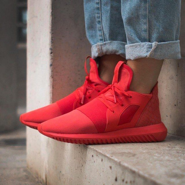 Adidas Tubular Defiant On Feet
