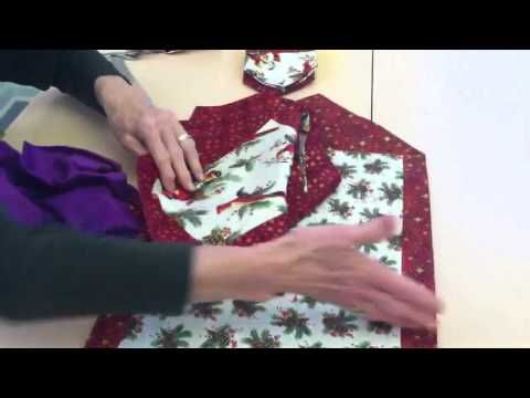 10 Minute Tablerunner Youtube You Need 1 3 Yard For The