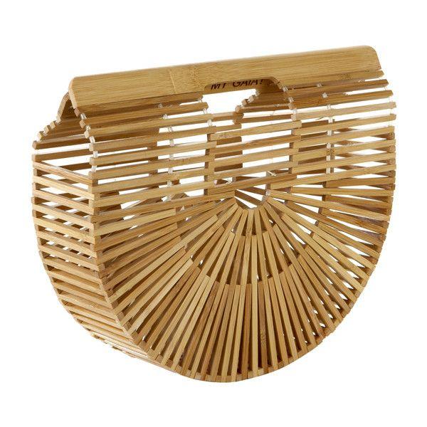 CULT GAIA Gaia's Ark Handbag (195 BRL) ❤ liked on Polyvore featuring bags, handbags, brown hand bags, brown bag, hand bags, man bag and brown purse