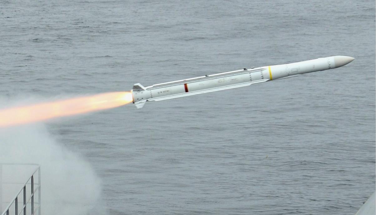 RIM-162 Evolved Sea Sparrow Missile (ESSM)