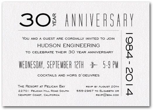 Anniversary invite invites pinterest anniversary invite stopboris Choice Image