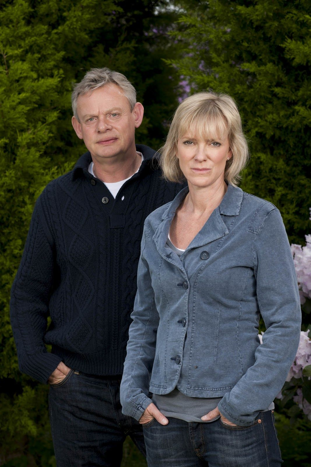 martin clunes and hermione harris in a mothers son 2012