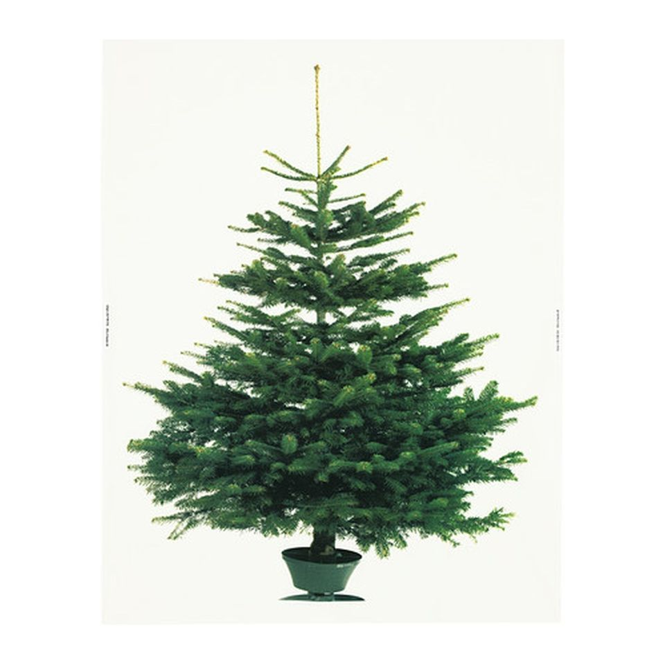 Ikea Christmas Tree Fabric Decorative Panel Xmas Wall Hanging Vinter 2014 So Cool Perfect For A Modern Christm Ikea Weihnachtsbaum Ikea Weihnachten Und Moderne Weihnachtsdekoration