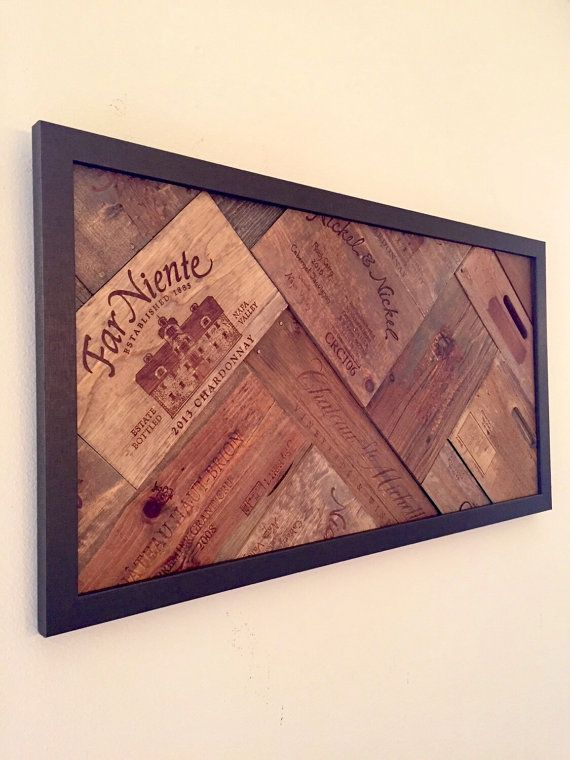 Wine Art / Wine Decor -- Made to Order-- The Vineyard Experience ...