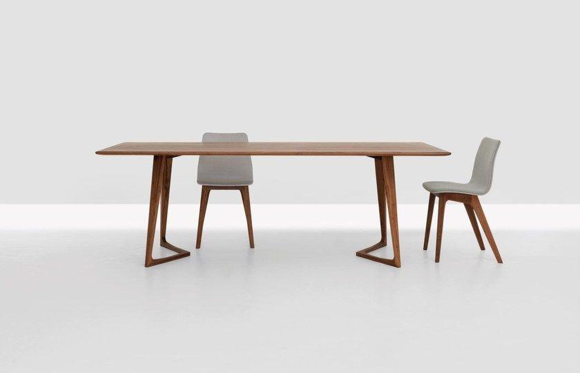 Twist Rechteckiger Tisch By Zeitraum Design Formstelle In 2020 Esstisch Stuhle Esstisch Massivholz Mobeldesign
