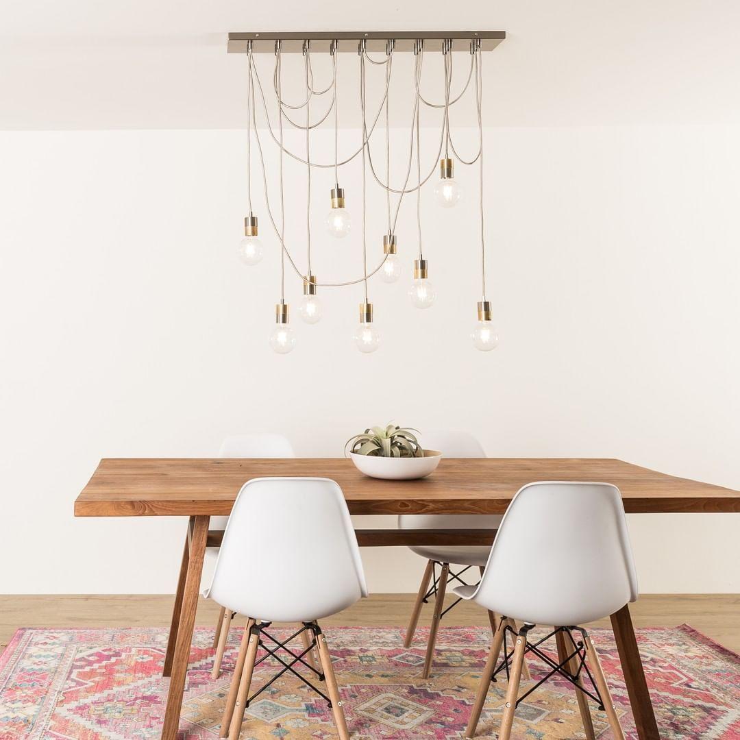 Custom 36in rectangle canopy pendant light fixtures
