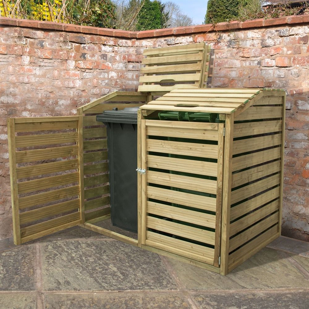 how to hide garden bins Google Search Garden furniture