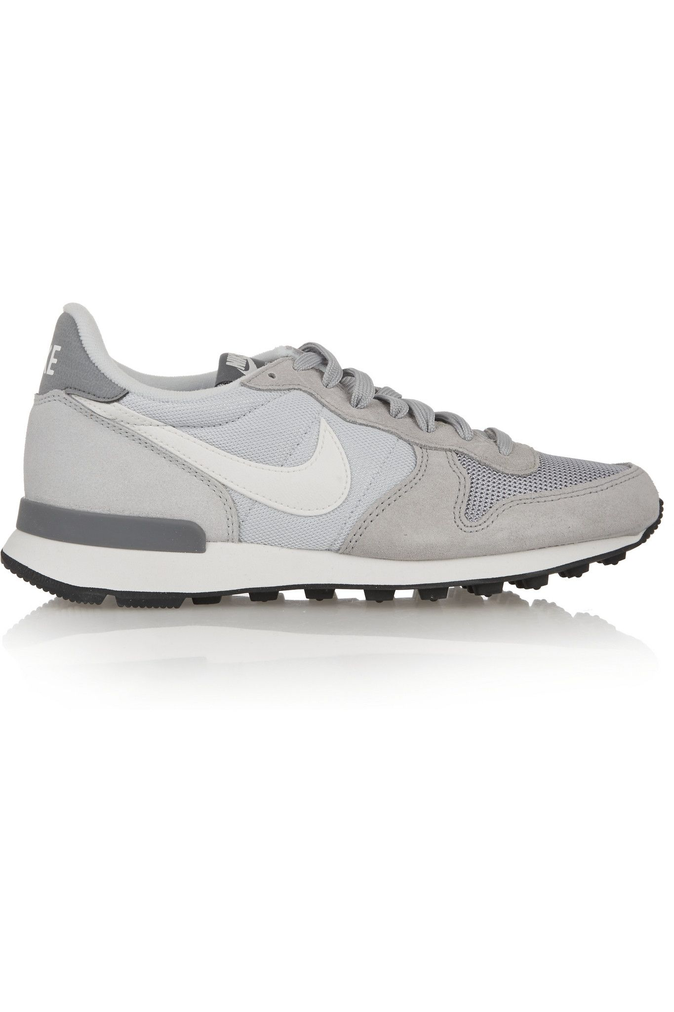 new styles b5d4f cc98b NIKE Internationalist suede, leather and mesh sneakers €90.00 https   www.