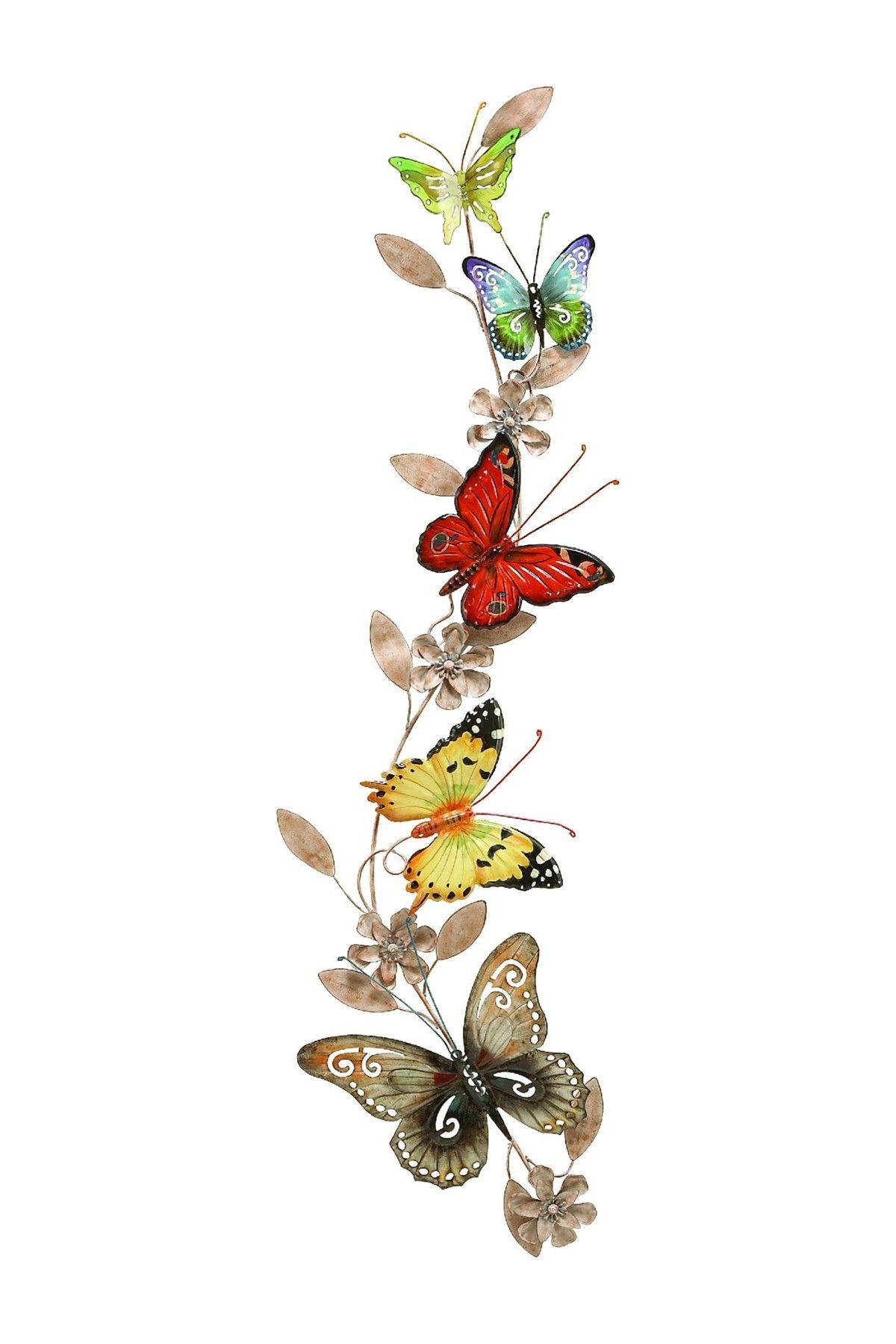 Metal butterfly wall decor products pinterest butterfly wall