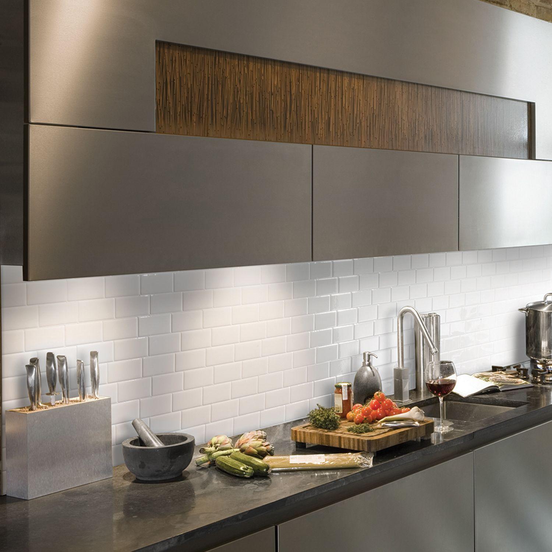 Credence De Cuisine Adhesive Smart Tiles Smart Tiles Kitchen