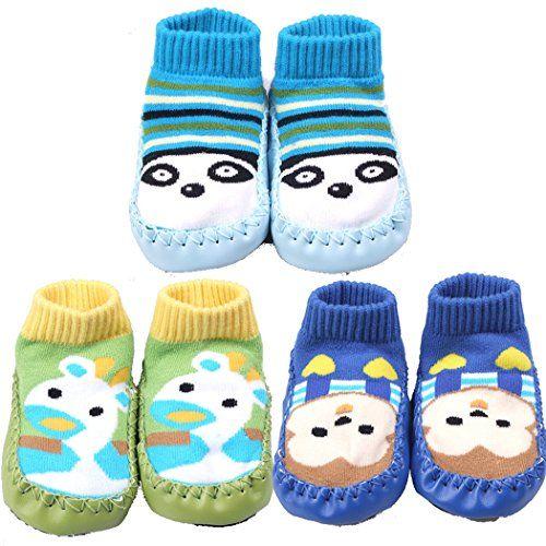 BW Slipper Socks Soft Sole Prewalkers