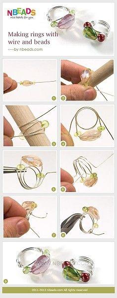 anillo alambre