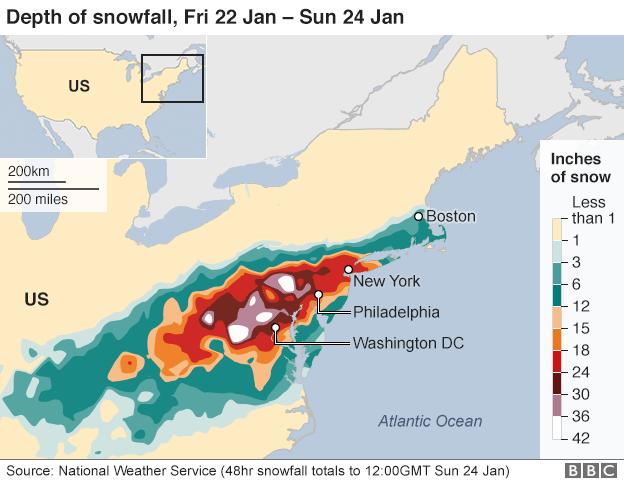 Millions Battle US Snow Travel Chaos Snow Travel - Us snow storm map
