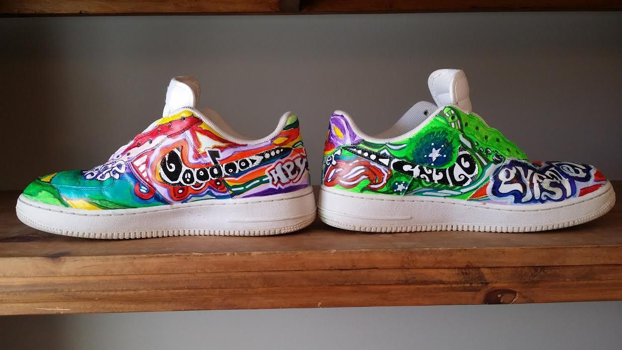 on sale 0a1f0 dfd3f ... by haroun r tazieff  nike air force 1 bespoke  step into ...