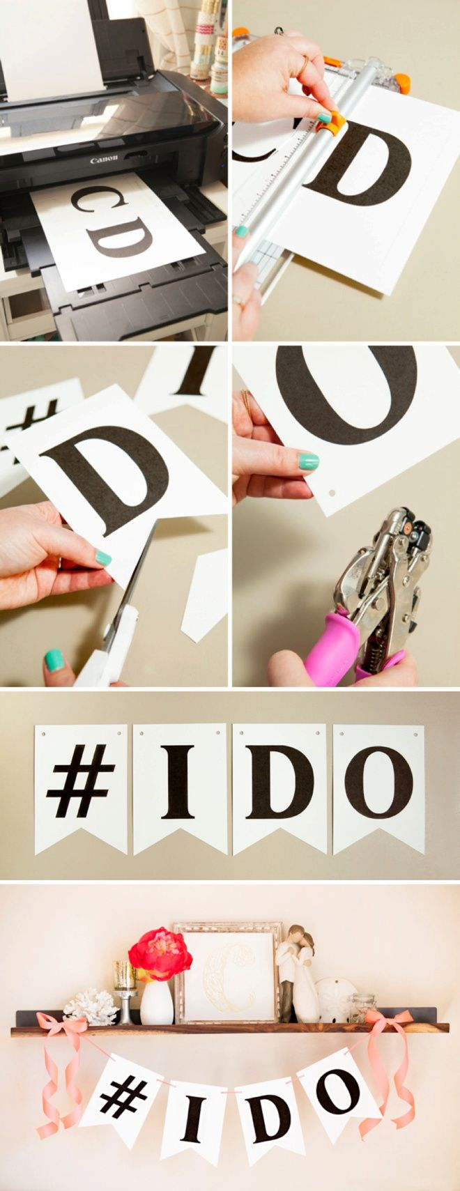 FREE Printable Alphabet and Number Banner! Adorable! | Printable ...