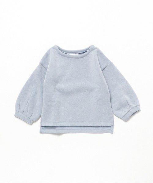CIAOPANIC TYPY / KID'S(チャオパニックティピー / キッズ)のボリュームスリーブスウェット(Tシャツ/カットソー) サックスブルー
