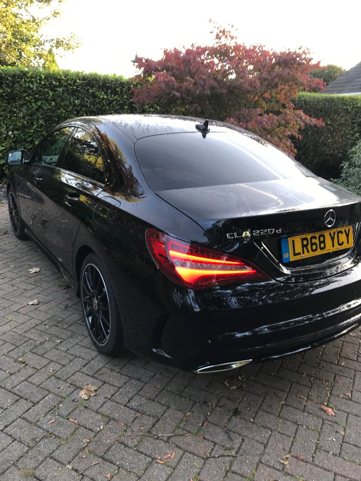 The Mercedes Benz Cla Class Diesel Coupe 220d Amg Line Night