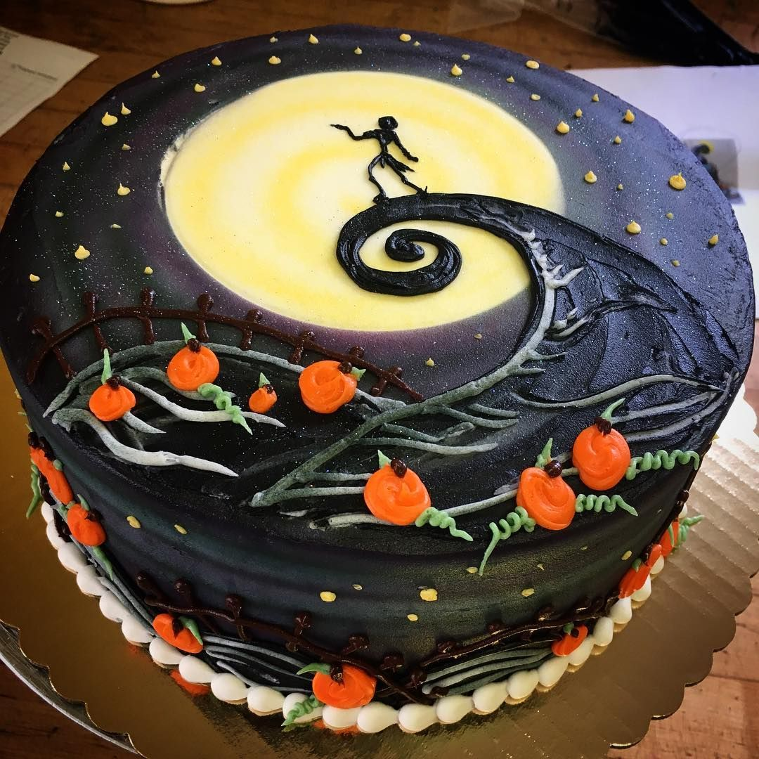 Pleasing The Nightmare Before Christmas Cake Decorations The Cake Boutique Funny Birthday Cards Online Elaedamsfinfo