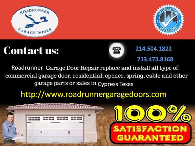 26 95 Garage Door Repair Cypress Tx Garage Door Repair Garage Door Installation Garage Doors