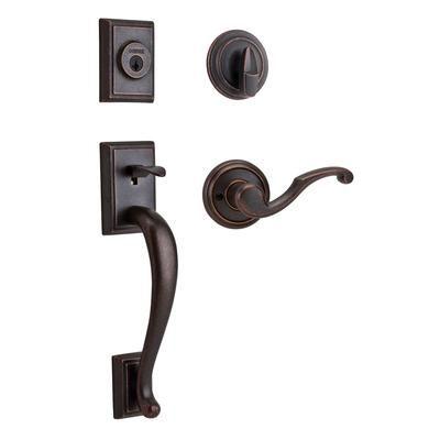 oil rubbed bronze option for front door weiser weiser pemberly