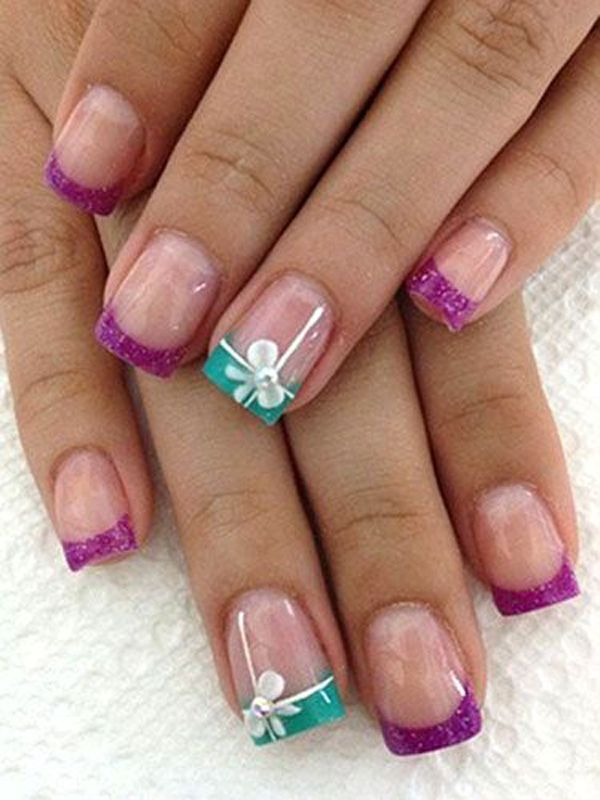 55 Bow Nail Art Ideas | Bow nail art, Ring finger and Finger