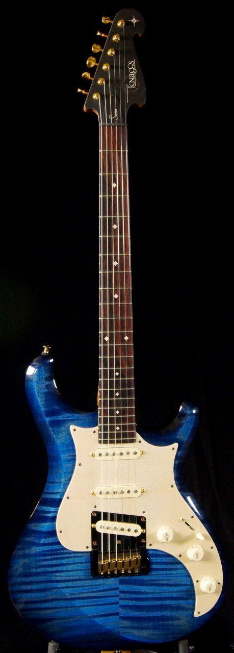 Knaggs Severn T2 Ocean Blue ~ Strat-O-Blogster Guitar Blog