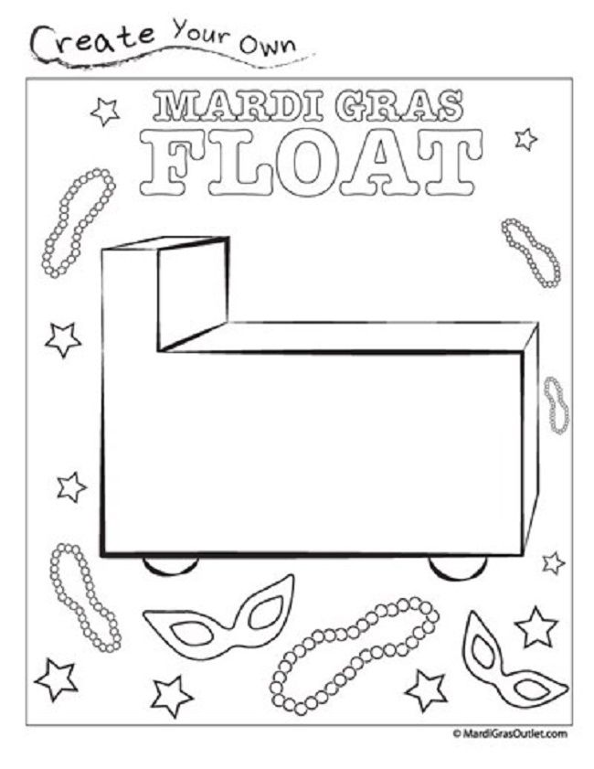 mardi gras beads coloring pages | coloring Pages | Pinterest | Mardi ...
