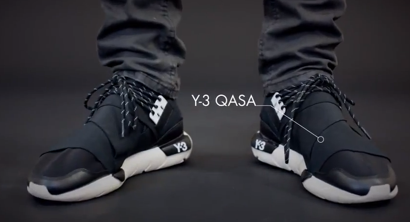 The Y3 Qasa comes from a branch of Adidas, focusing on fashion and  innovation.