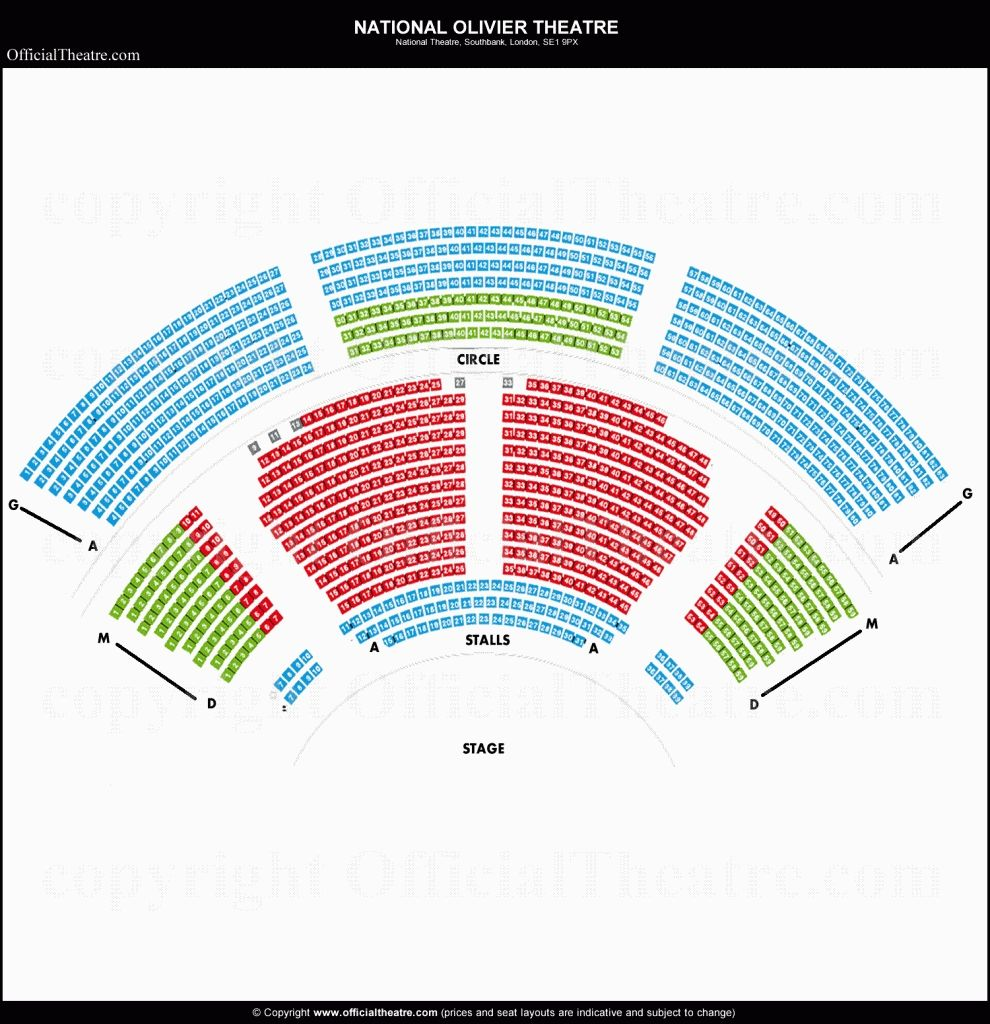 The Amazing National Theater Seating Chart In 2020 National Theatre Theater Seating Seating Charts