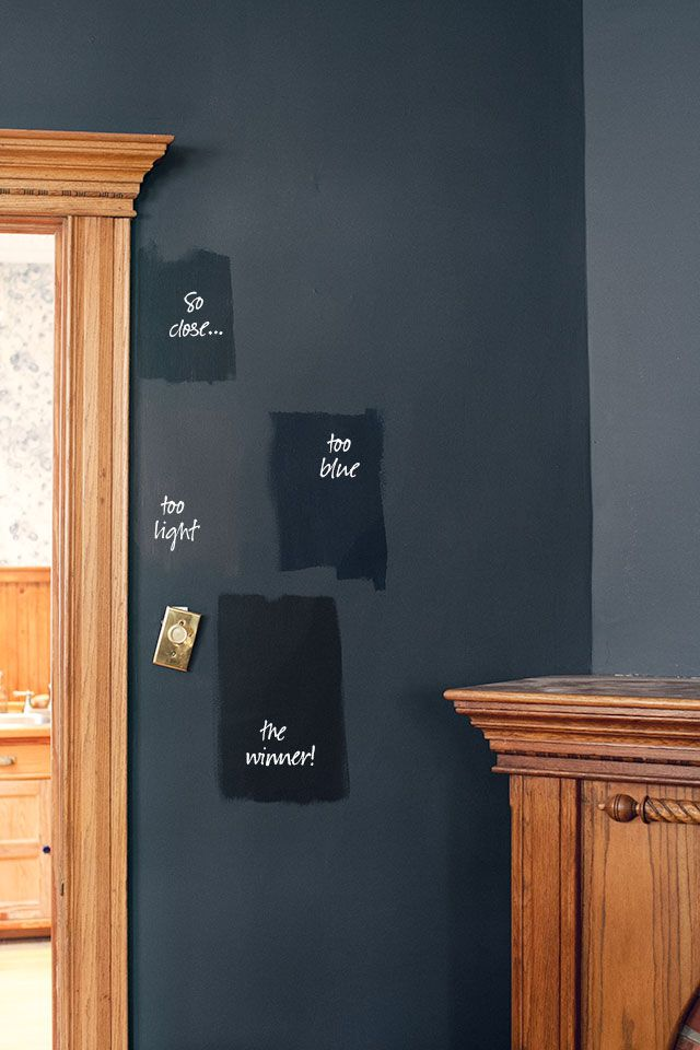 Black Benjamin Moore Paint Swatches Soot Almost Black