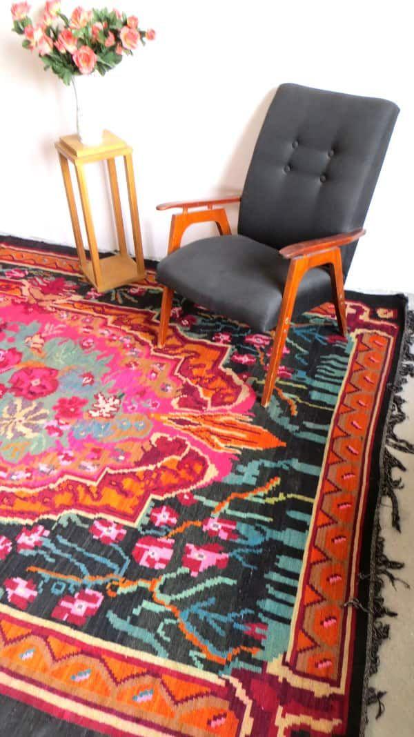 wollteppich teppich türkis vintage teppiche kinderzimmer teppich ...