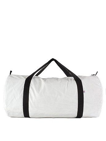 5f30ea66710e A larger more travel appropriate version of our Nylon Pack Cloth Gym Bag. American  Apparel
