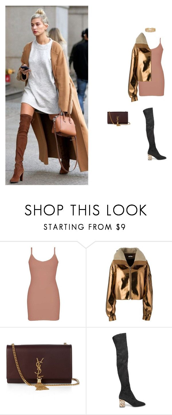 """""""devastated"""" by tina-gadze ❤ liked on Polyvore featuring BKE core, Masha Ma, Yves Saint Laurent and Burberry"""