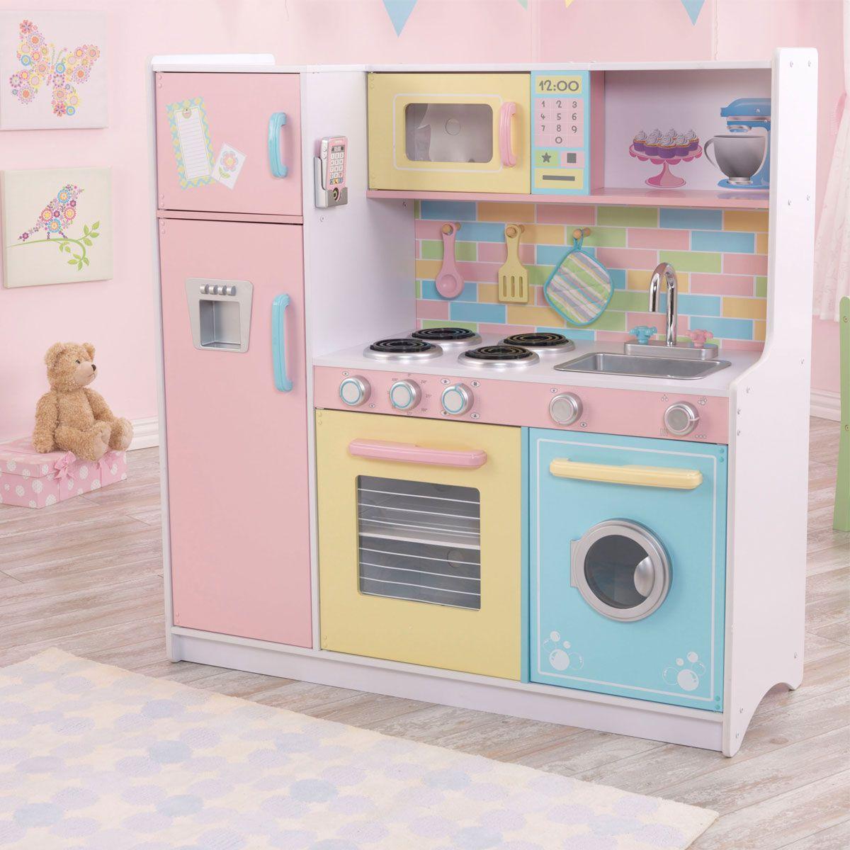 Kidkraft Deluxe Culinary Kitchen Kinderkuche Spielzeug Kuche