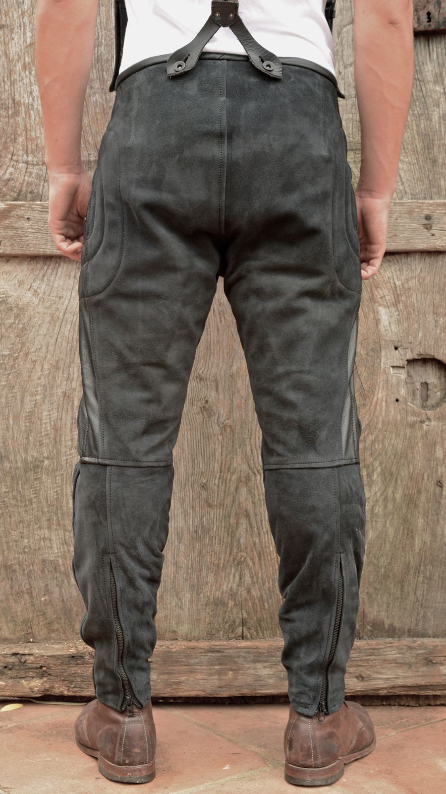 Rascal Leather Motorcycle Pants Black | Cl | Pinterest ...