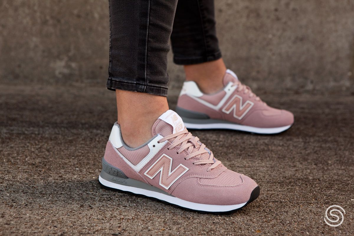 New Balance WL574 Roze Dames | New balance shoes, Sneakers ...
