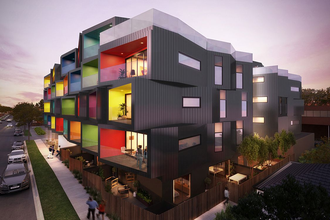 Spectrum Apartments Break The Rules With Its Geometrically