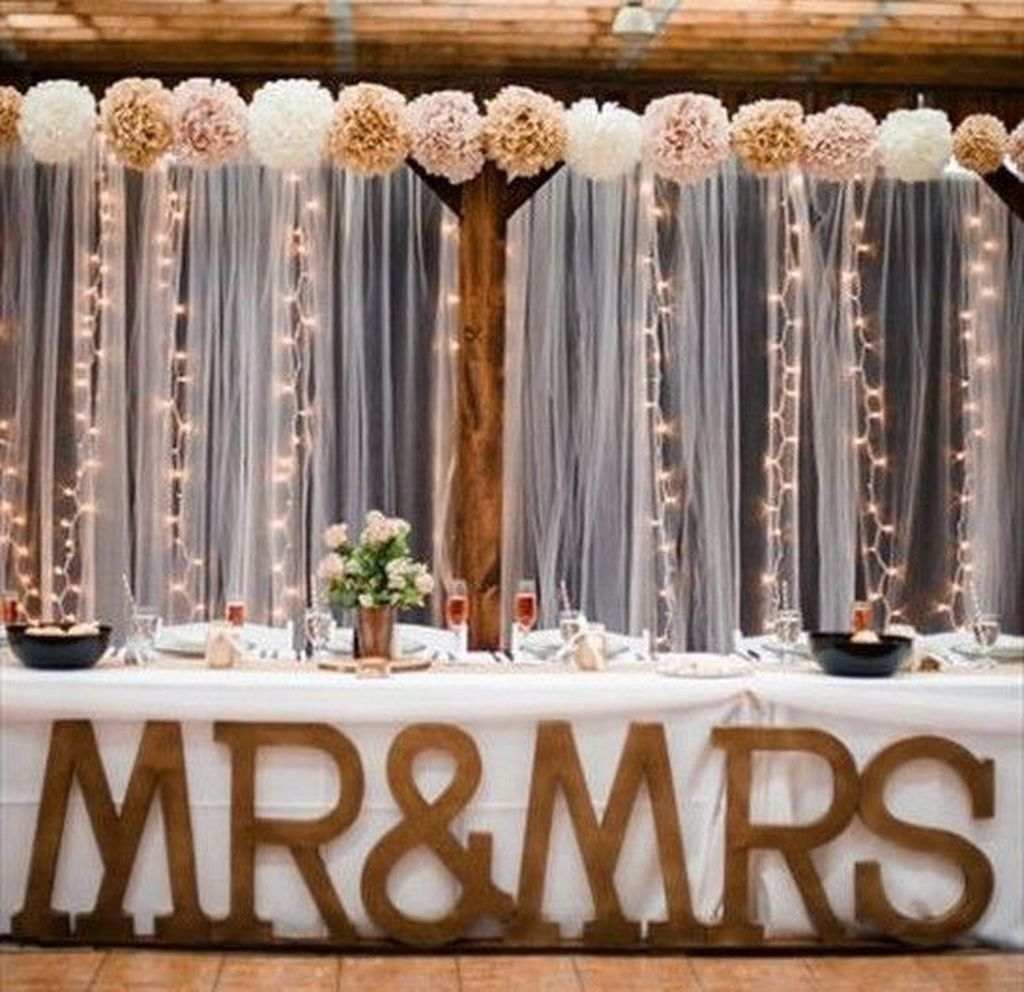 Fall Wedding Decoration Ideas On A Budget: 48 Unique Fall Wedding Décor Ideas On A Budget #Budget