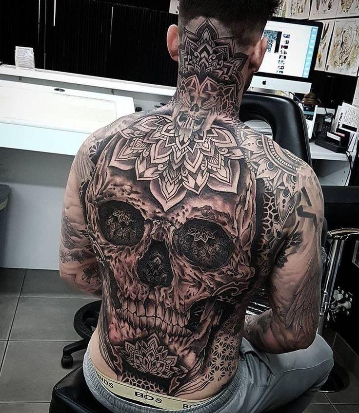 Tattoos Rücken