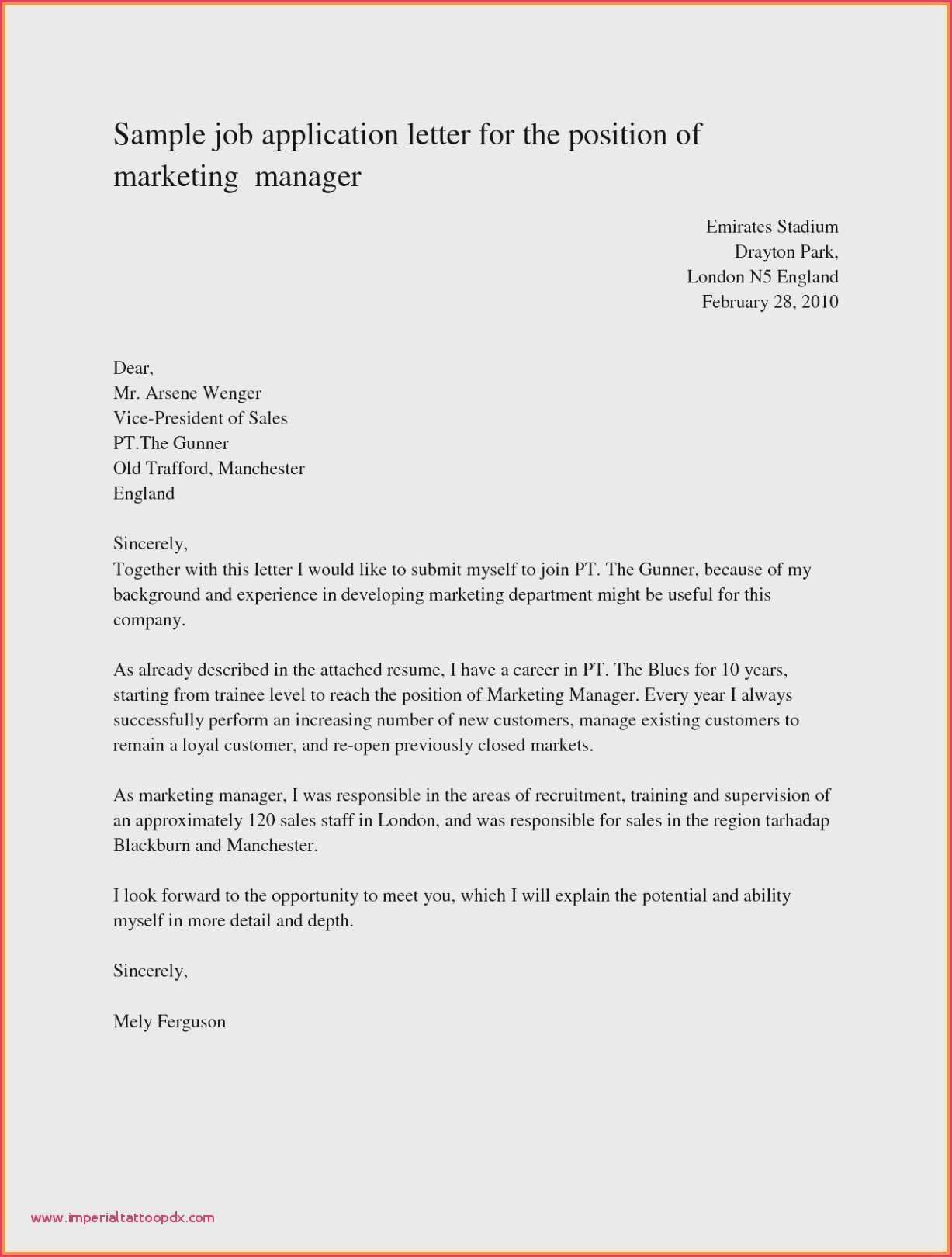 22 Templates For Business Letters Application Letters Job Cover