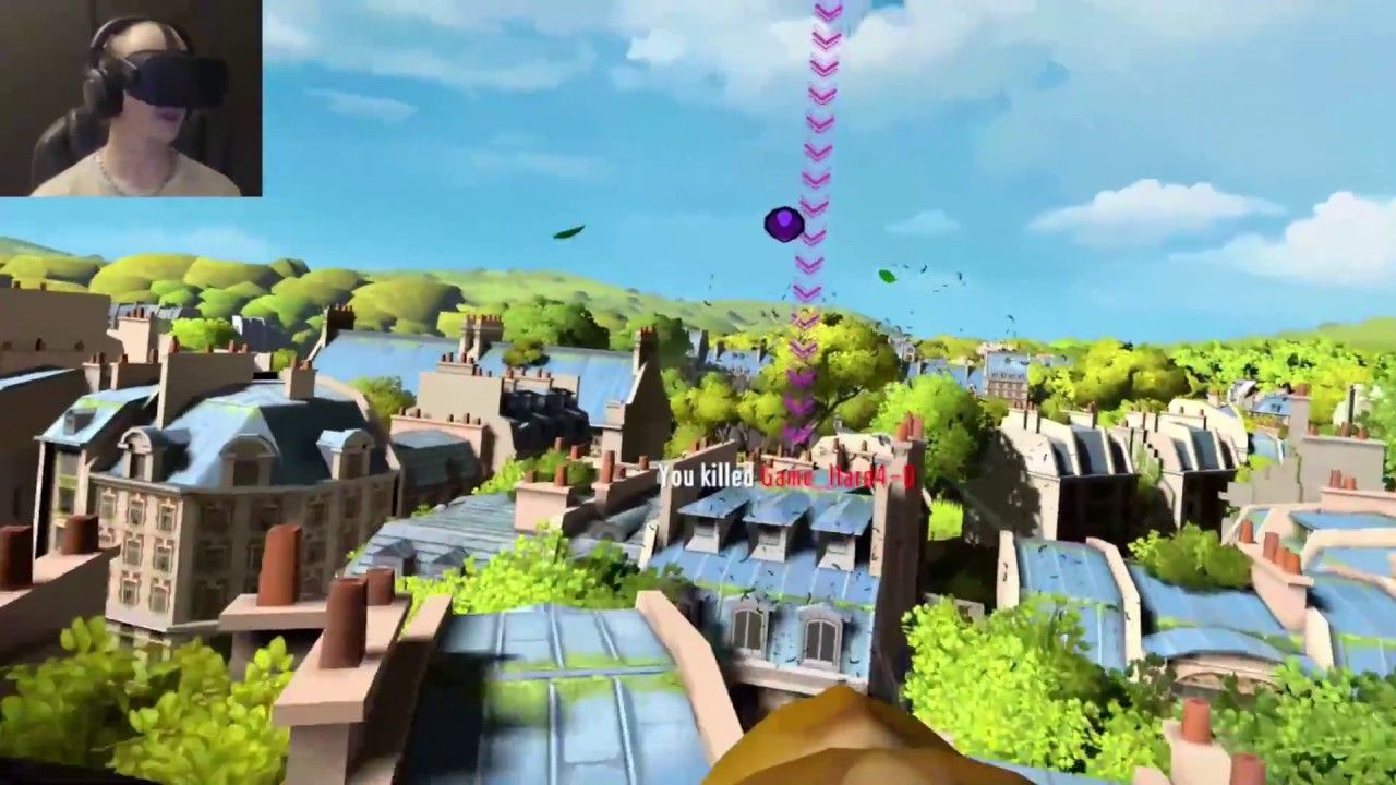 Eagle Flight VR Multiplayer Gameplay With Game Hard 4.0