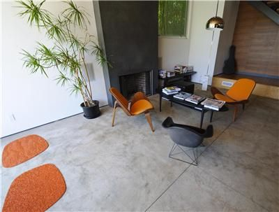 Concrete has become the new material of choice for designers and homeowners for interior surfaces.  ConcreteNetwork.com