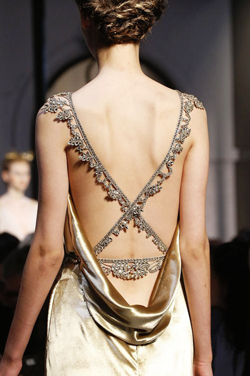 details to die for / schiaparelli fall 2015 couture: