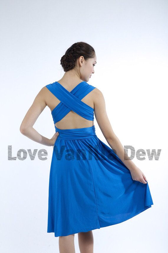 Bridesmaid Dress Infinity Straight Hem By Lovevanilladew