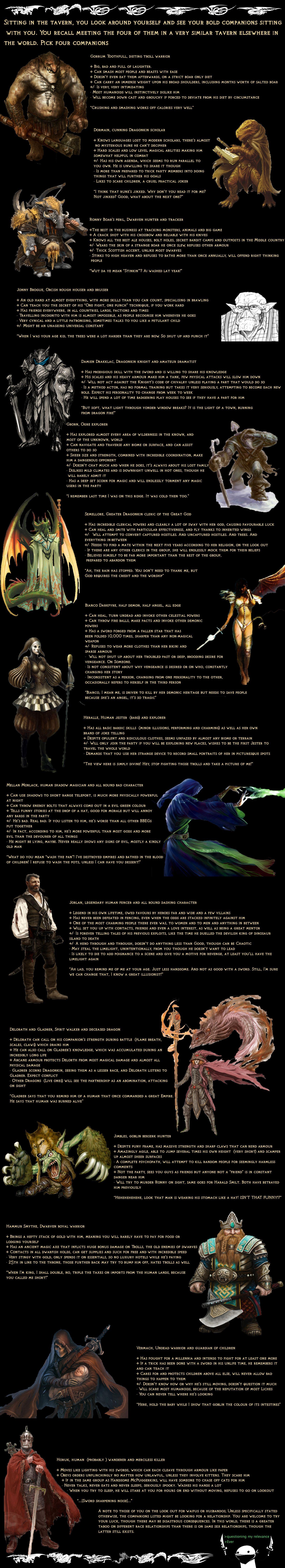 Tg Fantasy Earth Cyoa Part 3
