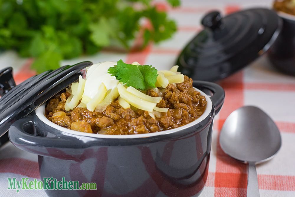 Keto Chilli Con Carne Spicy Hearty Ground Beef Recipe No Beans Recipe Beef Recipes Ground Beef Recipes Recipes