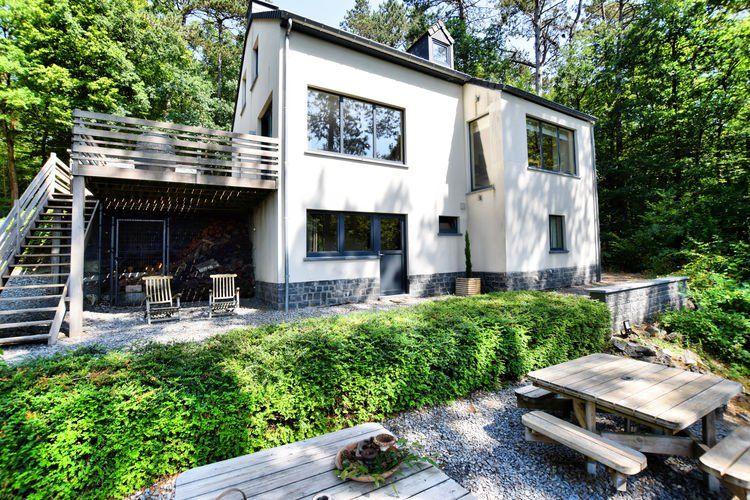 vakantiehuis voor 15 personen in durbuy walloni 6 slaapkamers 2 badkamers open haard tv vaatwasser sauna wasdroger wasmachine objectnr