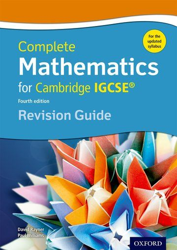 Complete Mathematics for Cambridge IGCSE 4th edition
